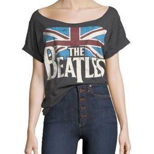 AO.LA by Alice + Olivia Beatles T-Shirt Grey